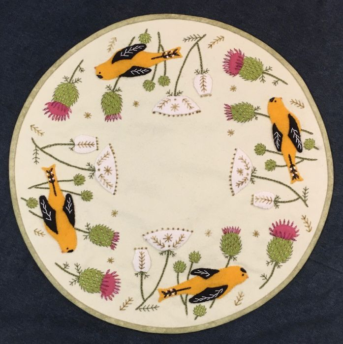 OR134 Goldfinch and Thistle