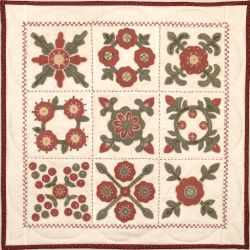 Red and Green small quilt